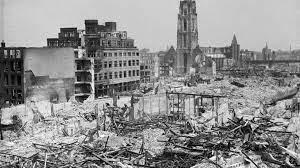Oorlogsfoto Rotterdam